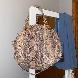 NWT Cynthia Rowley snakeskin purse